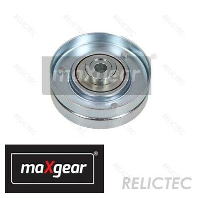 Aux Belt Idler Pulley fits BMW 635 E63 3.0D 07 to 10 2833690RMP Guide Gates New