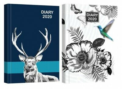 2020 A5 Week to View Appointment Diary Hard back Casebound WTV Diary