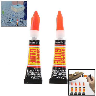10pcs Super Glue Instant Quick-drying Cyanoacrylate Adhesive Strong Bond Fast TS