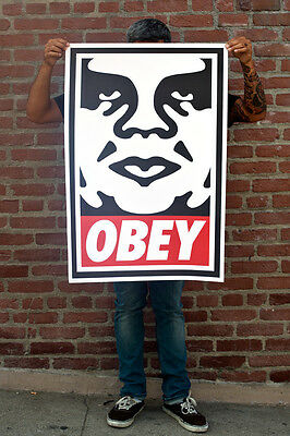 Shepard Fairey ♦ Andre ♦ Litho Offset Signee Obey Giant Mint