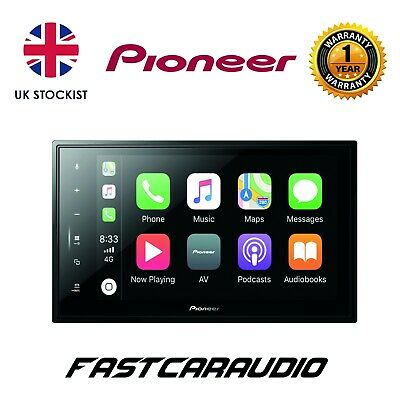"""Pioneer Sph-Evo82Dab Uni 8"""" Floating Touch Screen Carplay Android Auto Dab"""