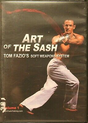 Art of the Sash Tome Fazio's Soft Weapons System Workout Fitness DVD martial