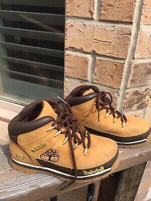 GS KIDS TIMBERLAND EUROHIKER *WHEAT*  ASSORTED SIZES *NEW IN BOX*