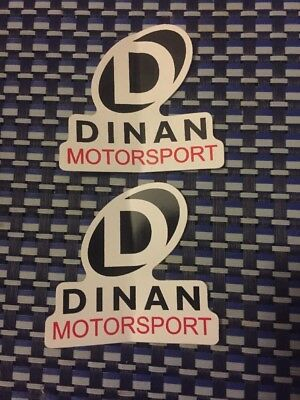 """Dinan Motorsports RACING DECALS STICKER 3x2.9 INCH """"FREE SHIPPING"""""""