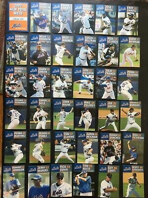 New York Mets 2007 Team Set ~ lot of 37 Cards