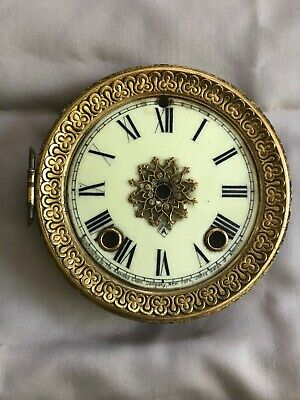 Ansonia shelf or mantle clock dial
