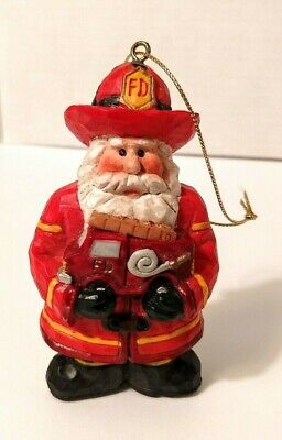 Christmas Santa Fire Truck Inflatable Airn Yard