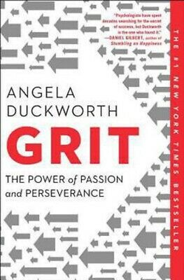 Grit The Power of Passion and Perseverance by Angela Duckworth (2018,...New