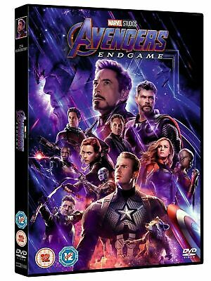 Avengers: Endgame [DVD] Region 1 UK COMPATIBLE Brand New Fast & Free Postage