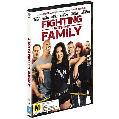 Fighting With My Family [DVD] New & Sealed with Fast & Free delivery. Region 2