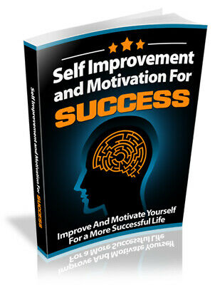 Self Improvement and Motivation for success ebook with Master Resell Rights