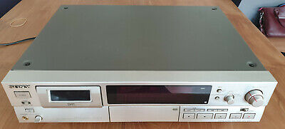 Sony DTC 60ES Champagne Gold DAT Recorder Working sn 4503095
