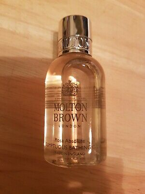 Molton Brown London Rosa Absolute Sumptuous Bathing Oil 45ml, Brand new