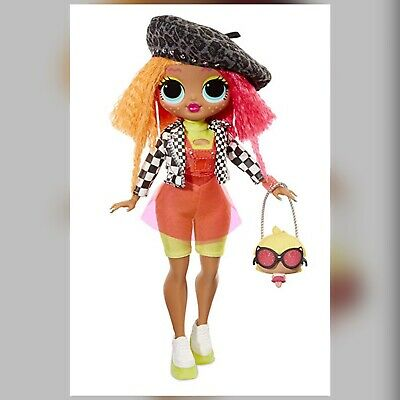 """LOL Surprise Series OMG NEONLICIOUS 11"""" Fashion Doll Neon"""