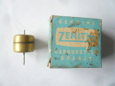 Classic Suffolk Lawnmower Zenith Carb Brass Float - Unused Old Stock