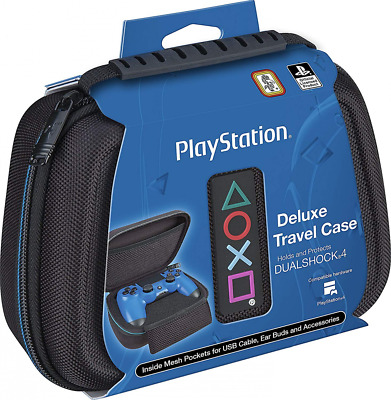 Sony PlayStation 4 Dual shock Controller Deluxe Case – Protective Travel Black