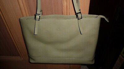 KEM Bag PALE SAGE GREEN Leather Designer Summer FAB BNWOT LTD VHTF Chic *RARE!!*