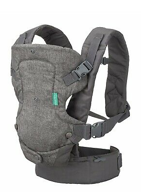 Infantino Flip Advanced 4-in-1 Convertible Carrier, Light Grey, NEW