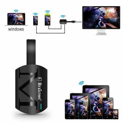 MIRASCREEN G4 MIRACAST 1080P WiFi Display HDMI TV Media Dongle
