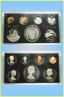 New Zealand 1972 Seven Coins Proof Set