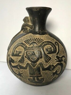 PRE-COLUMBIAN MISSISSIPPEAN POTTERY Jar - From East TN