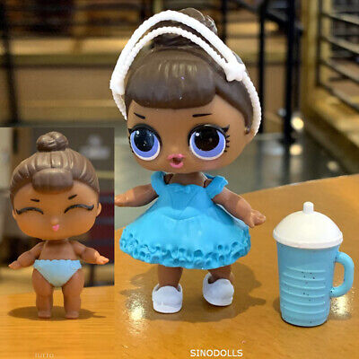 2Pcs L.O.L. LOL Surprise Doll MISS BABY family with Lil SISTER Authentic toy