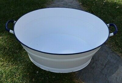 Old Oval Aschwanne Email - Planter (173-19)