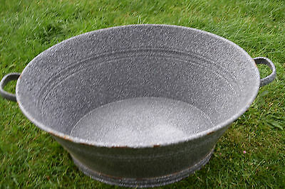 Old Oval Aschwanne Email - Planter (247-16)