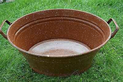 Old Oval Aschwanne Email - Planter (239-16)