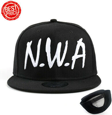 76699c322 VINTAGE NWA SNAP Back Hat Cap Black Red Ruthless Records Rap Tee Hip ...