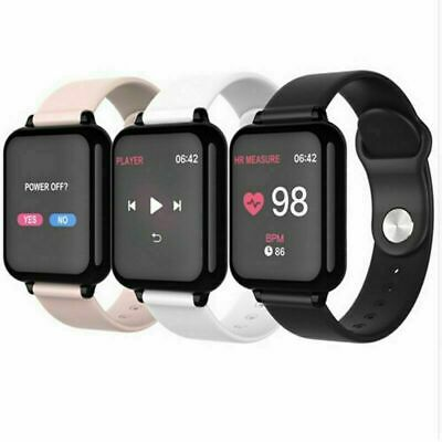 Smart Watch Heart Rate & Blood Pressure Monitor Sport Fitness Tracker Bracelet #