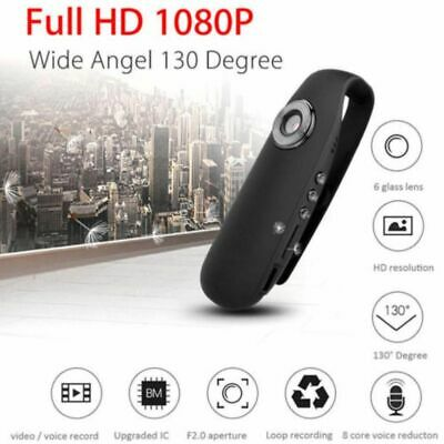 HD 1080P Mini Camcorder Magnet Dash Cam Body Motorcycle Motion Action Camera