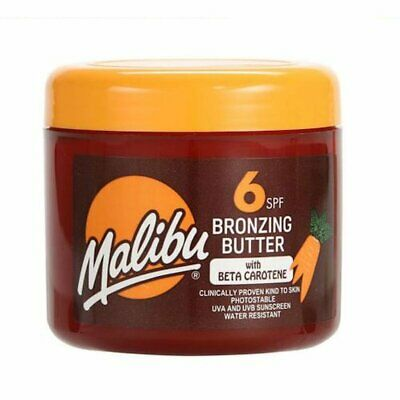 Malibu Bronzing Butter SPF6 With Beta Carotene 300ml Tanning Sunscreen
