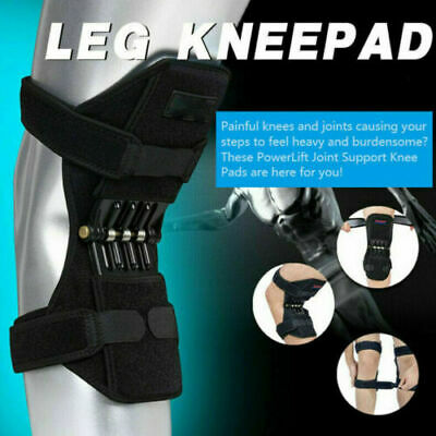 Power Knee Stabilizer Pads Powerful Rebound Spring Force Support Knee Pad US 1PC