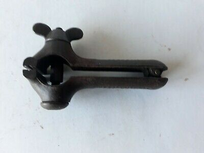 "Vintage Small 4"" JEWELLERS Blacksmith HAND VICE THE K & B NEW HAVEN CT U.S.A"