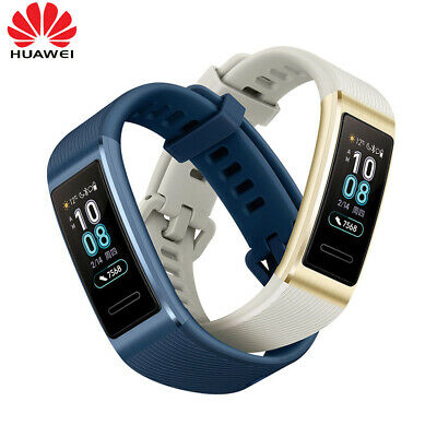 HUAWEI Band 3 Pro 0.95-Inch AMOLED Screen 120*240 5ATM BT GPS Fitness Tracker Ti