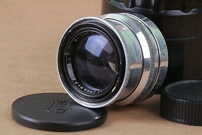 Lens Carl Zeiss Jena Biotar 2/58 mm SLR red T Mount m42 Silver Vintage