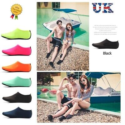 Unisex Aqua Shoes Mens Womens Kids Water Socks Slip On Sea Wet Beach Swim Surf