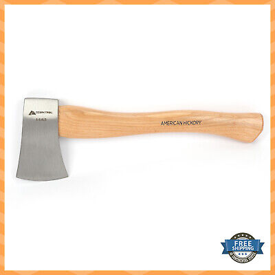 12 Inch Chopping Axe Hatchet with Wooden Handle and Blade Cover