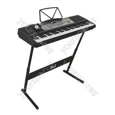 New Jersey Sound Corp 61 Key Full Size Digital Electronic Keyboard Kit