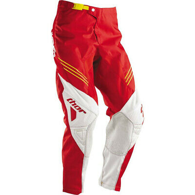 New Thor Adult Phase Hyperion Pant Motocross Red Bargain Size 28