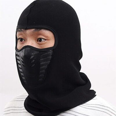 Balaclava Thick Warm Beanies Men Women Winter Hats Sleeve Caps Snow Ski Mask Boy