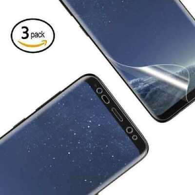 For samsung galaxy s9 clear curved screen protector tempered glass full cover