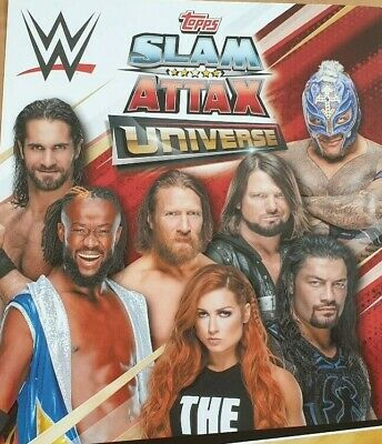 Topps Slam Attax Universe RAW Smackdown Live NXT 205 Tag Team CHOOSE YOUR CARDS