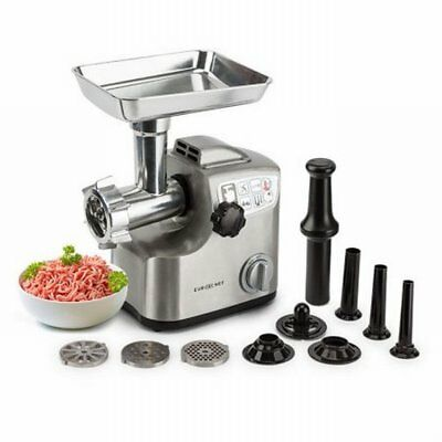NEW Powerful 1800W Commercial Electric Meat Grinder, Die Cast Aluminum Housing