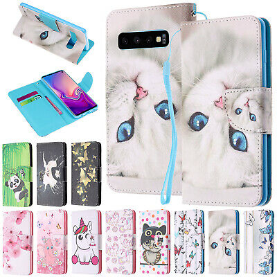 For Samsung Galaxy A30 Case A50 A70 A10 A20 Cute Magnetic Leather Wallet Cover