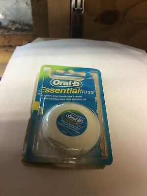 Oral B Floss Essential Mint  50m.  DAMAGED PACKETS