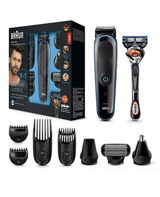 Braun 9-in-1 All-in-one Trimmer MGK3085, Beard Trimmer and Hair Clipper