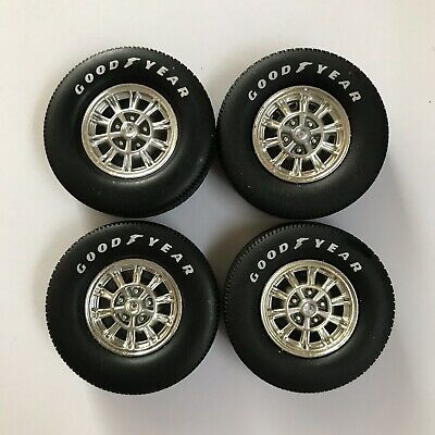 Set Of 4 Wheels And Goodyear Tires Acme Lane 1/18 Scale For Custom / Repair