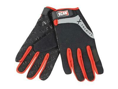 Scan SCAGLOTOUCH Work Gloves with Touch Screen Function - Large (Size 9)